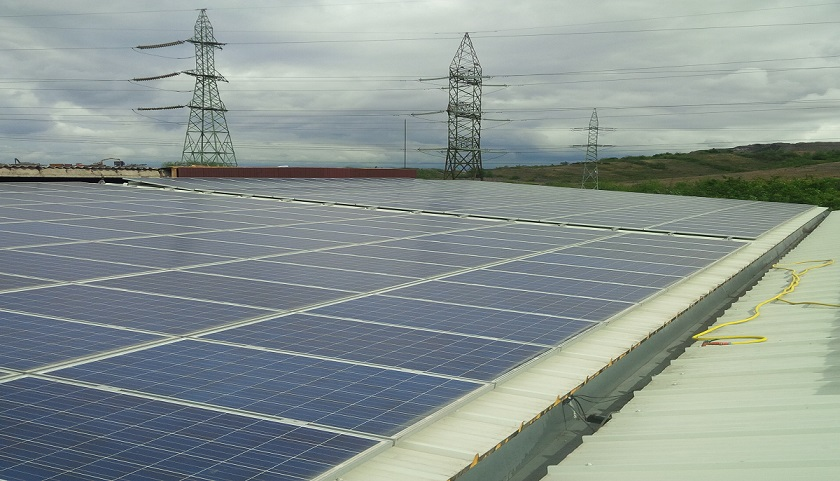 centrala fotovoltaica 53,5 kW Hunedoara