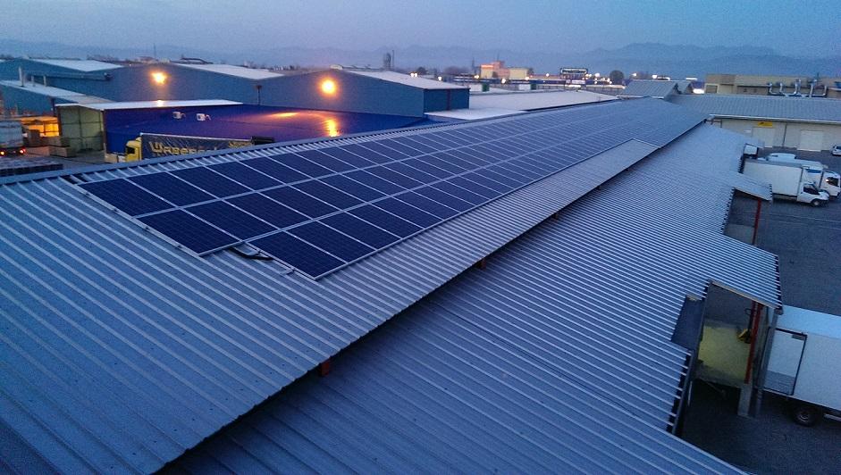 centrala fotovoltaica 61,7 kW Deva